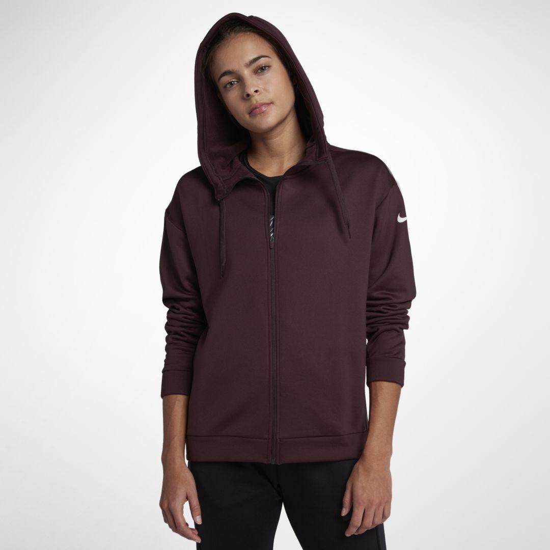 nike hoodie womens burgundy