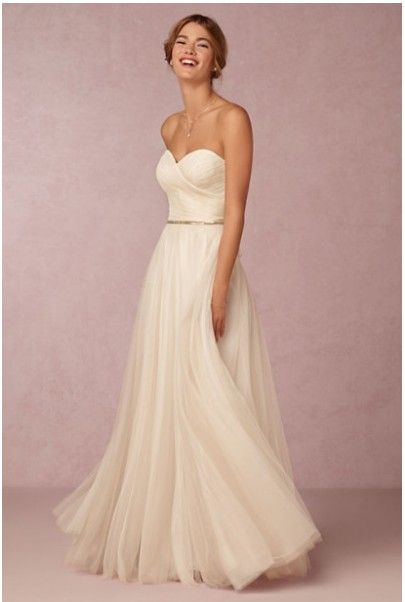 Used BHLDN Calla Gown Size 6 for $400. You saved 33% Off Retail! Find the perfect preowned dress at OnceWed.com.