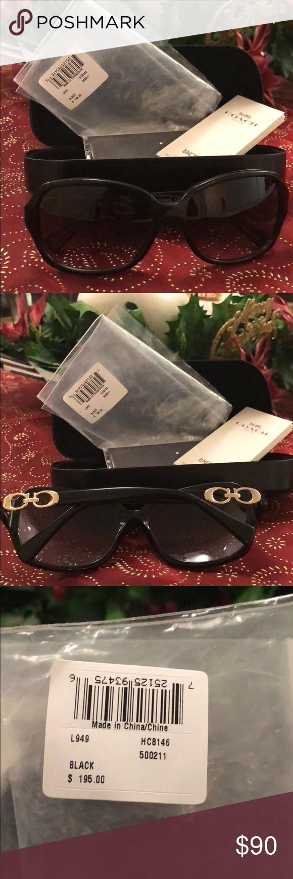 27297316c1 ... hot coach sunglasses black new one side make ann offer coach  accessories sunglasses 3be28 6c786