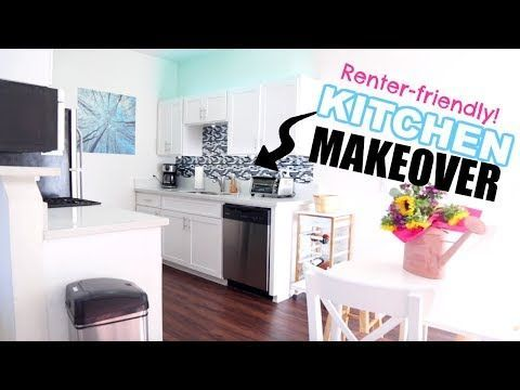 DIY SMALL KITCHEN HACKS MAKEOVER! Low Cost! OhhMyAnnie - YouTube