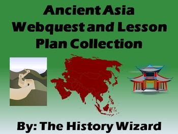 This is a great collection of webquests and lesson plans that goes along with any units on Asia. (Especially Ancient China, the Mongols, and India)  My students love doing these activities and always learn new interesting facts about different civilizations.