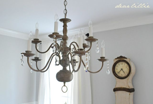 I Hope You All Are Having A Wonderful Weekend Tonight Wanted To Show Quick Makeover We Did On An Outdated Chandelier Ac