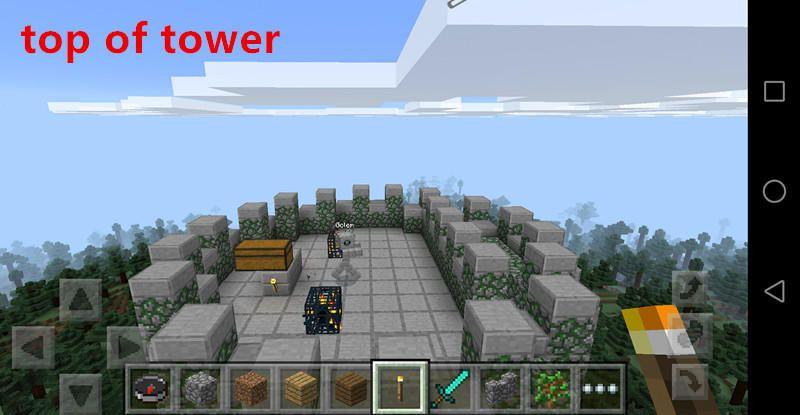 minecraft battle tower