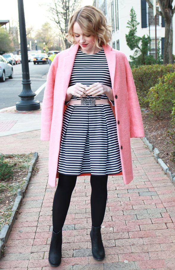 Topshop Pink Coat | Coats Topshop and Pink wool coat