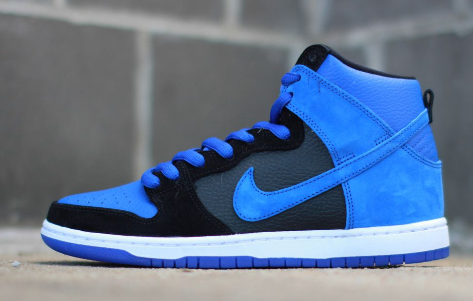 Nike Dunk SB Low Men Low Shoes Gold Rail Royal Blue /Nike Jordan [ N2239]