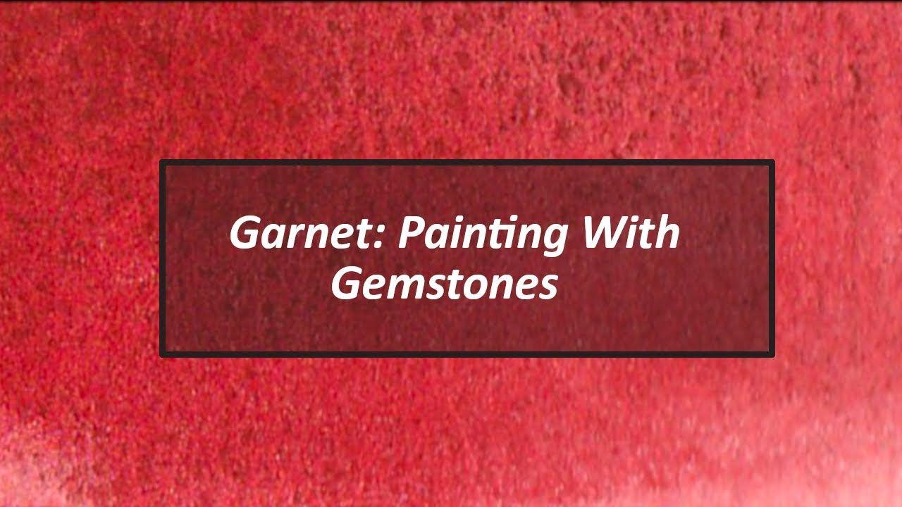 Pigment Playtime Exploring Garnet Daniel Smith Primatek