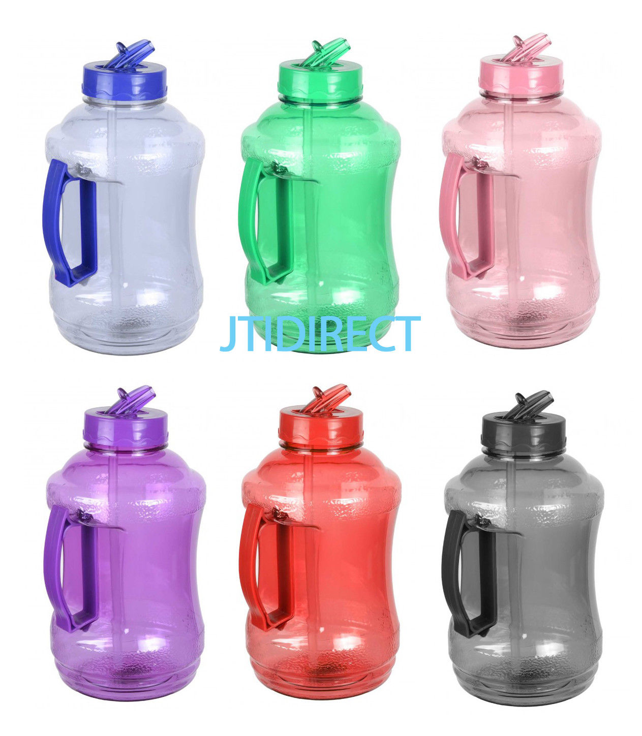 12 95 1 2 Gallon Bpa Free Water Bottle Drinking Canteen Jug Container W Straw Reuse Ebay Home Garden Kavanozlar