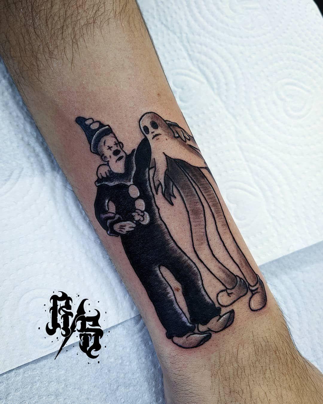 🚫 koko the clown 🚫 Trabalho realizado no clíente @ederson_garcia  valeu mano pela confiança e preferência!! 🙏🙏 . 📲 Orçamentos e dúvidas 51-982866941 . 📍Rua Manoel Serafim, 328 Sala 2. Sapucaia do Sul. RS 🇧🇷 . . #tattoos  #tattooart #tattoos #tattooist  #tattooflash #tattoolife #tattooinspiration #mundotattoo  #tattooing #blackwork #tattooshop #tattooink #tattoolove #tattoosnob #tattooidea #tattooflash #tattoo#linework #blackwork #ttblackink #tonoinsptattoos #tattoo2me #narutotattoo #subl