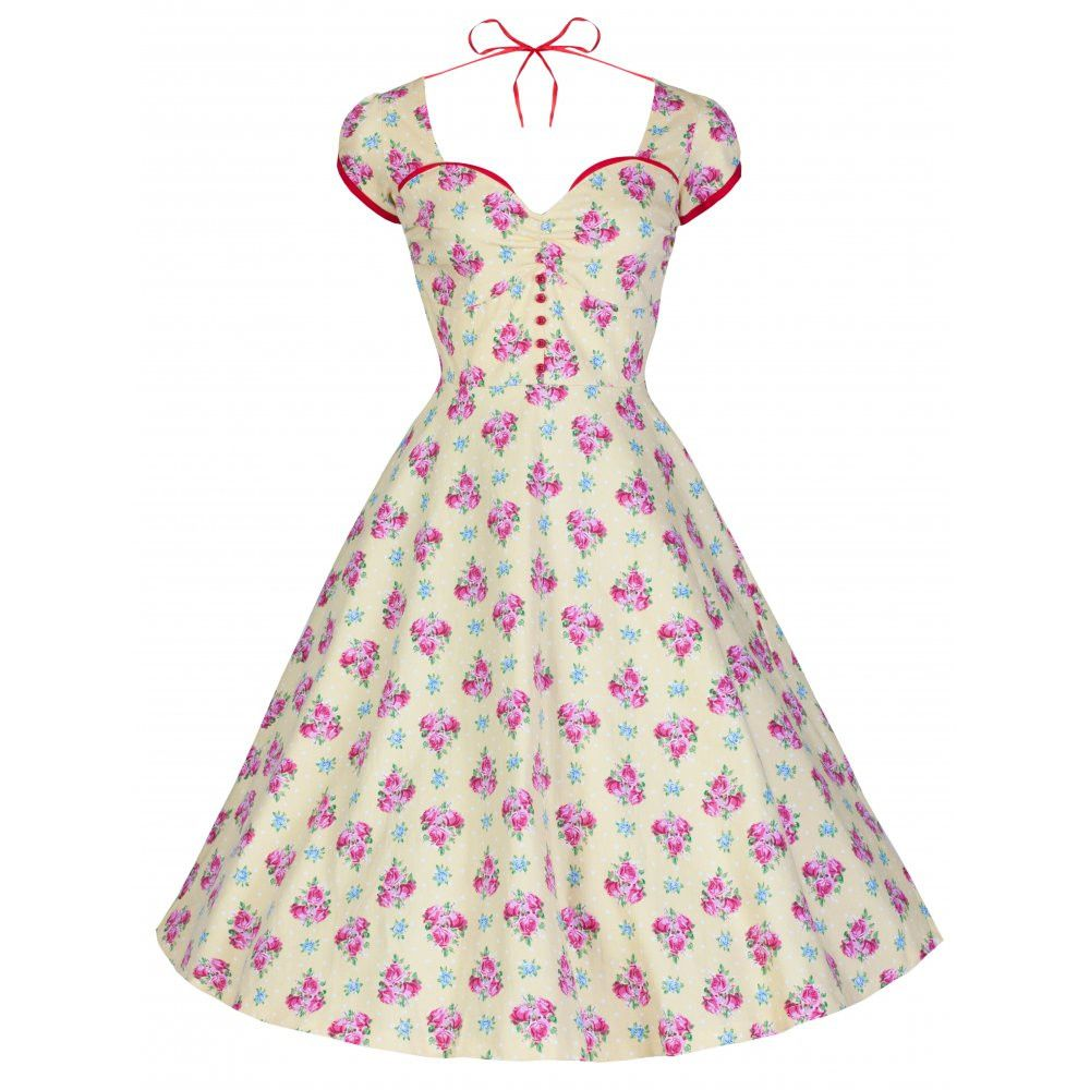 Bella Kitsch Vintage 1950 S Style Garden Party Dress Vintage Inspired Fashion Rockabilly Swing Dress Vintage Dresses [ 1000 x 1000 Pixel ]