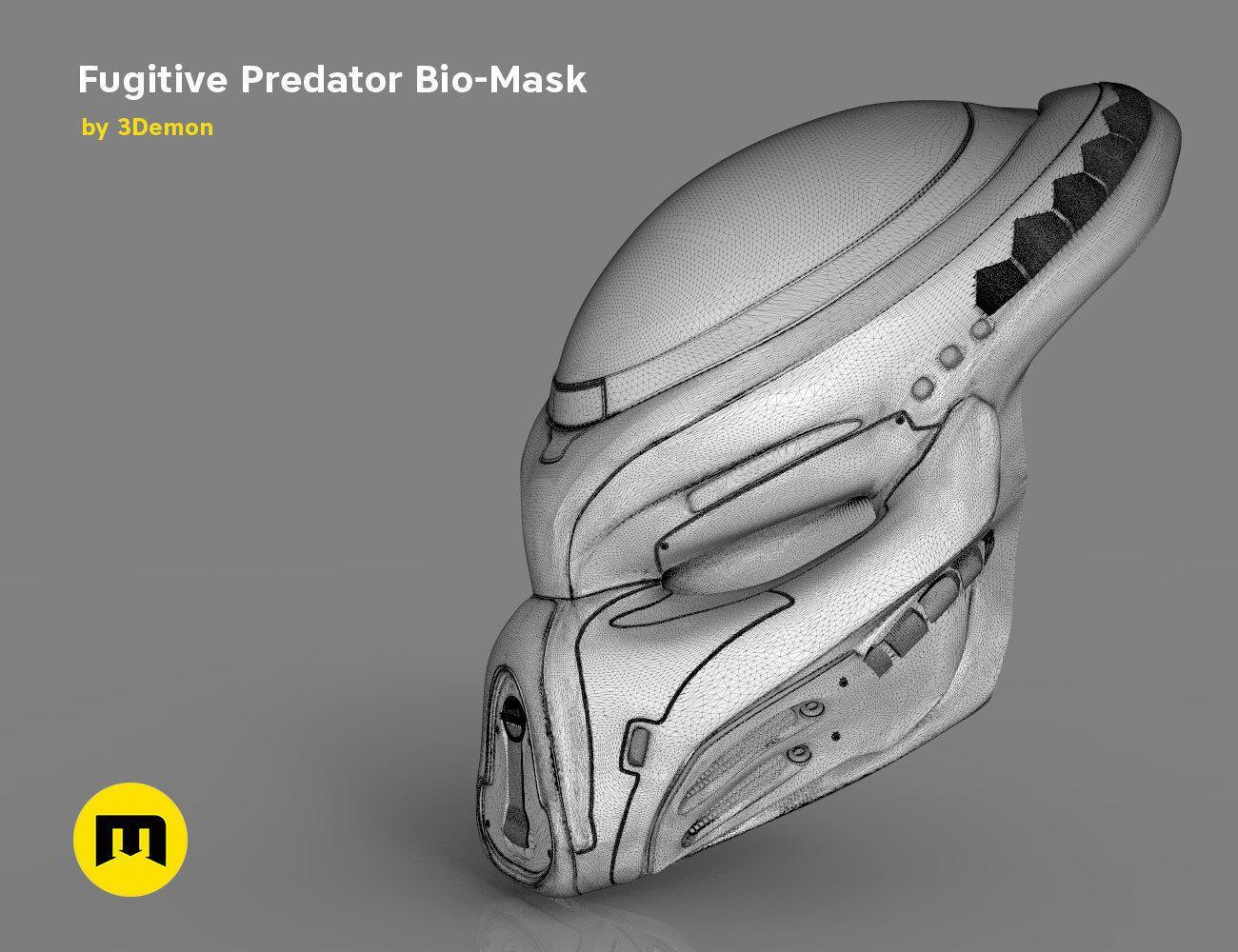 Fugitive Predator Bio-Mask 2018 | Predator in 2019
