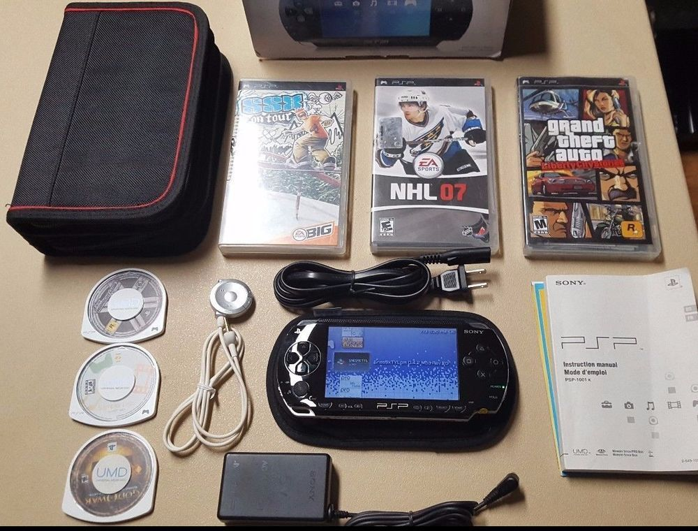 Are Nintendo roms legal? Sony PlayStation Portable PSP-1001