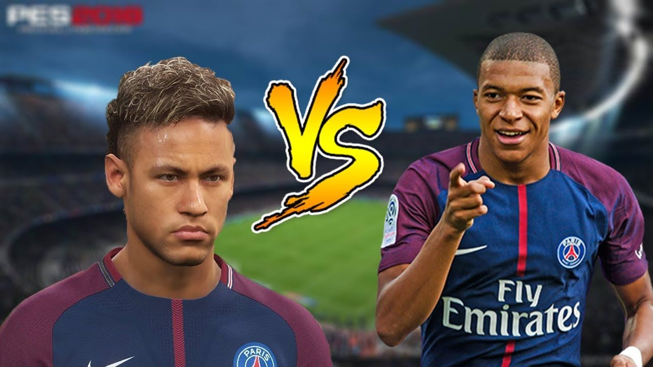 11 NEYMAR VS 11 MBAPPE | PES 2018 CHALLANGE | | Gameplay PC