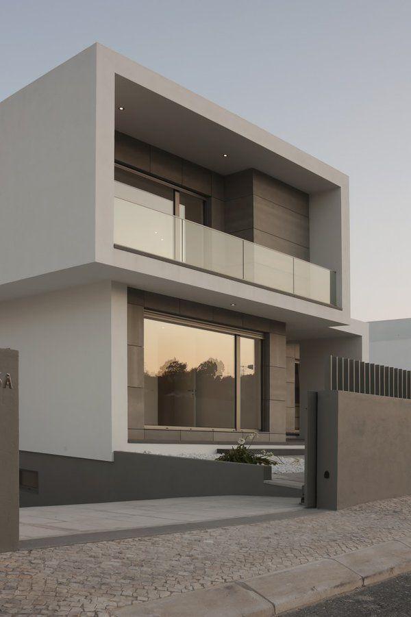Resultado de imagen para fachadas de casas modernas con balcones - balcones modernos
