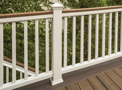 Best Deck Railing Systems Composite Outdoor Deck Railing 400 x 300