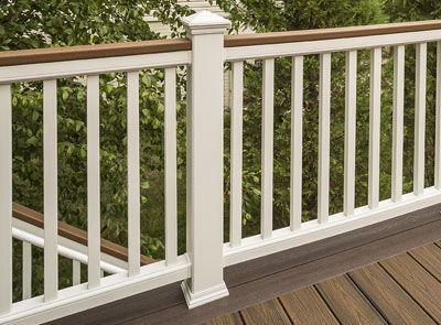 Deck Railing Systems Composite Outdoor Deck Railing