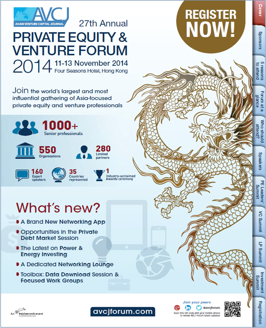 Less than 8 weeks to go! - Have you booked your place at the 27th AVCJ Hong Kong Forum? #avcjforum - www.avcjform.com #PE #VC