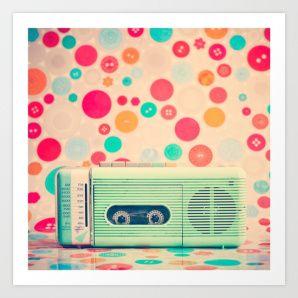 Radio Dots by Caroline Mint