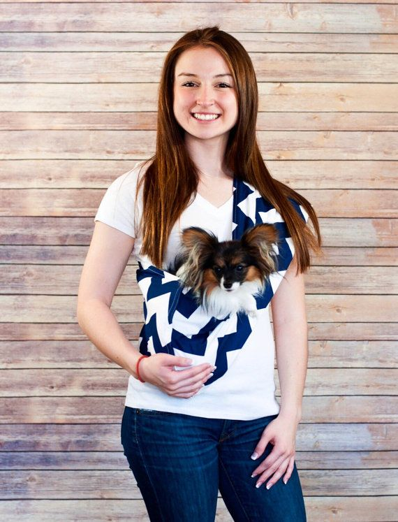 Pet Sling Carrier Carry Your Puppy Small Dog Cat Or Any Etsy In 2020 Dog Sling Dog Carrier Sling Pet Sling