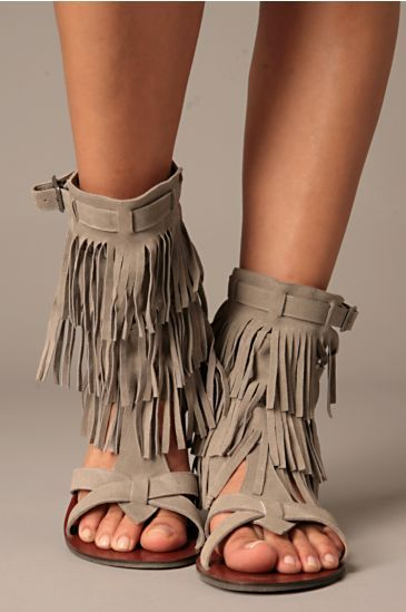 Free People Clothing Boutique > Maraco Fringe Sandal from freepeople.com