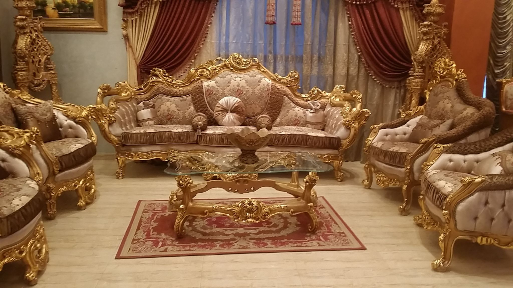 Antique French Living Room Suite. ..Gorgeous #