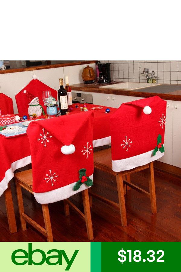 Chairs Home & Garden Fundas para sillas navidad, Silla