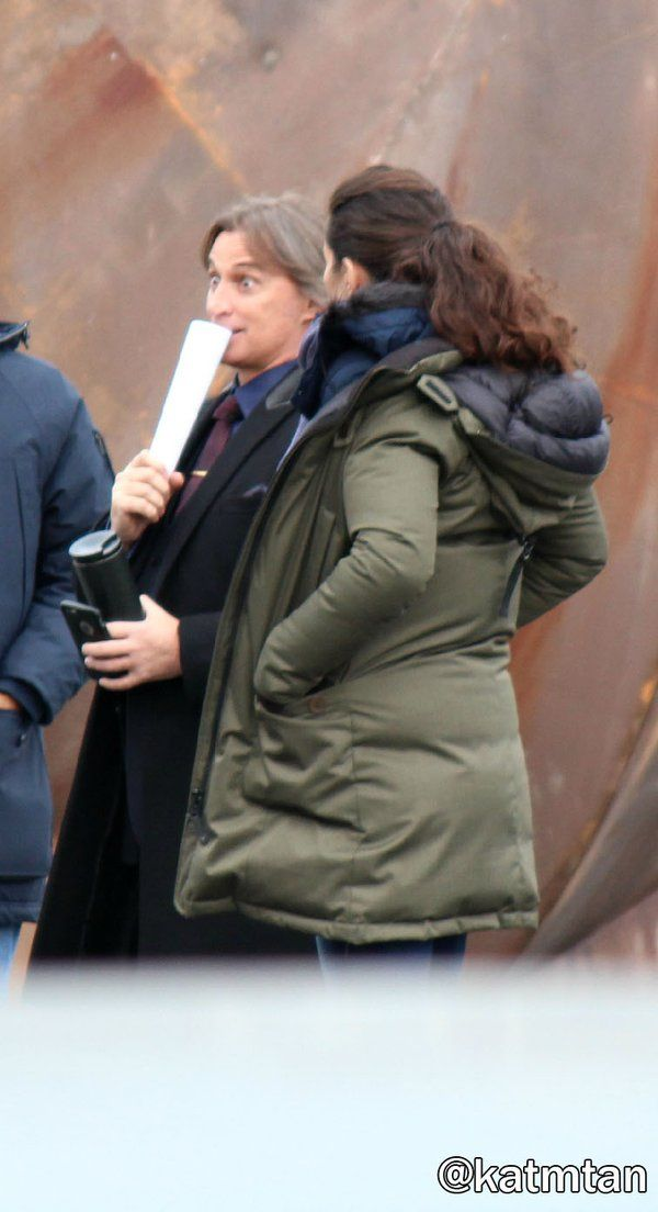 "Robert Carlyle and Rachel Shelly - Behind the scenes - 5 * 10 ""Devil's Due"" - 1st December 2015"