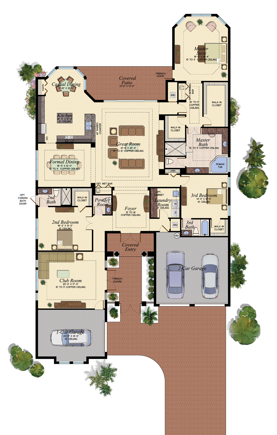 17 best images about florida homes - favorite floorplans on