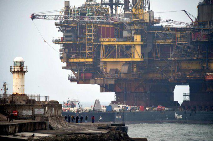 #MitjaRoskaric : The Brent Delta Oil And Gas Platform