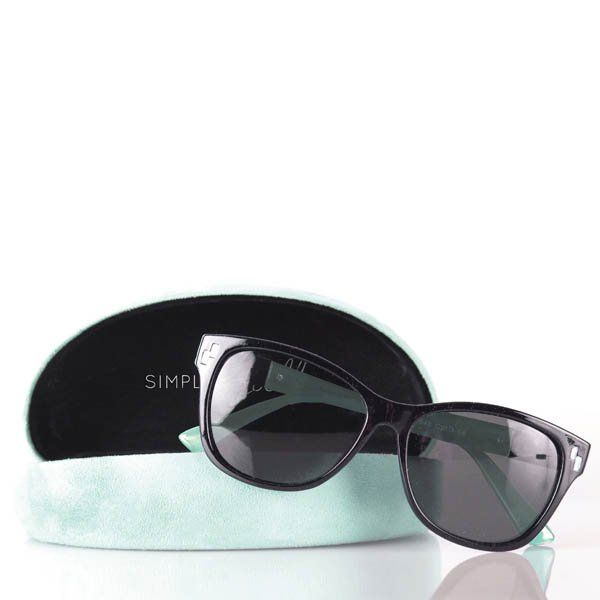 Noelle Rhinestone Sunglasses with Case at The Paper Store