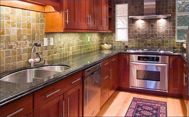Cute Small Kitchen Design Ideas With Concrete Countertops