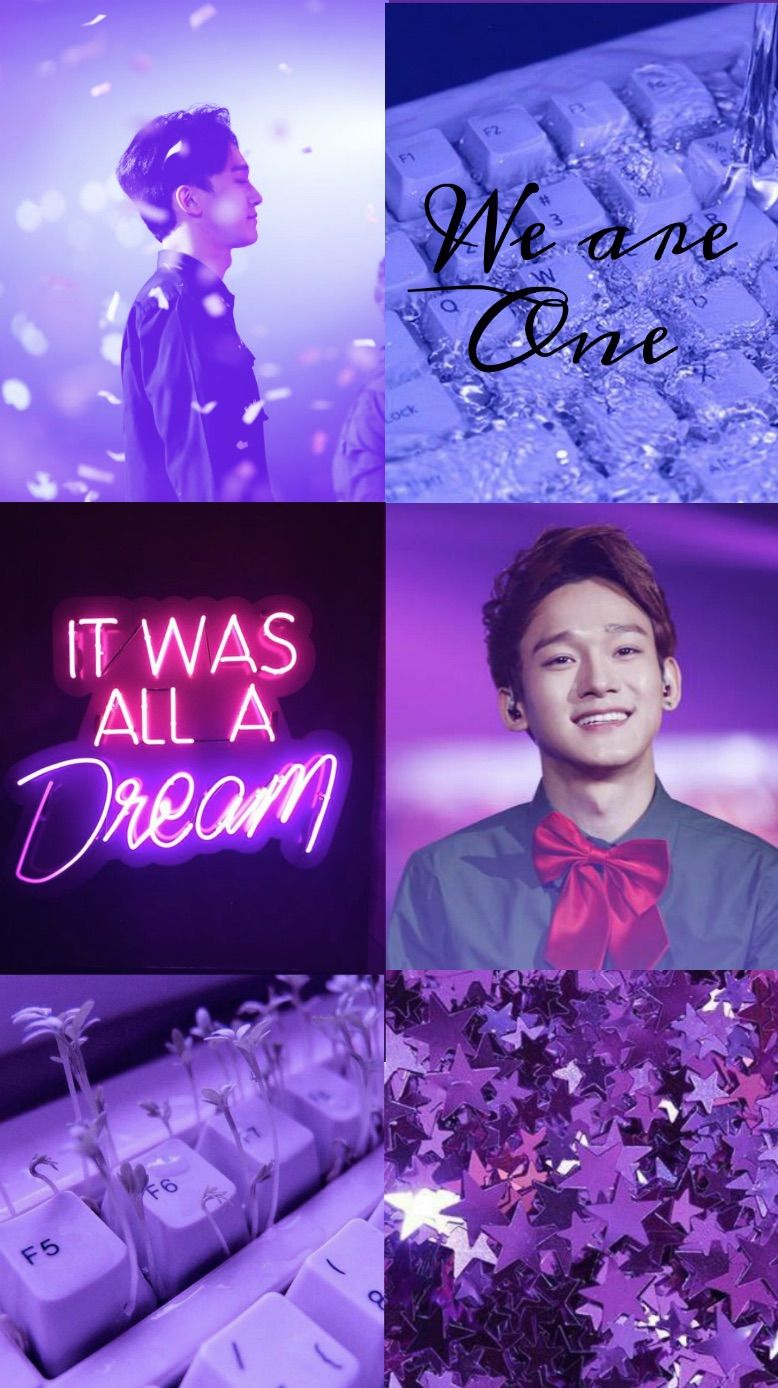 Aesthetic Purple Chen