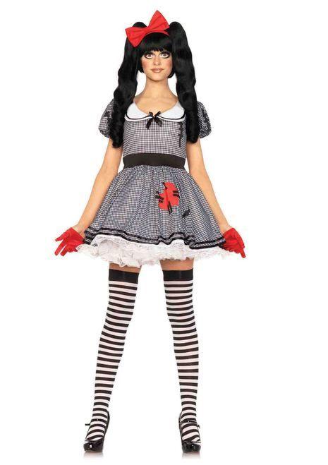 9101bff2c95 Look as cute as a doll in the Wind-Me-Up Dolly Women s Halloween Costume…