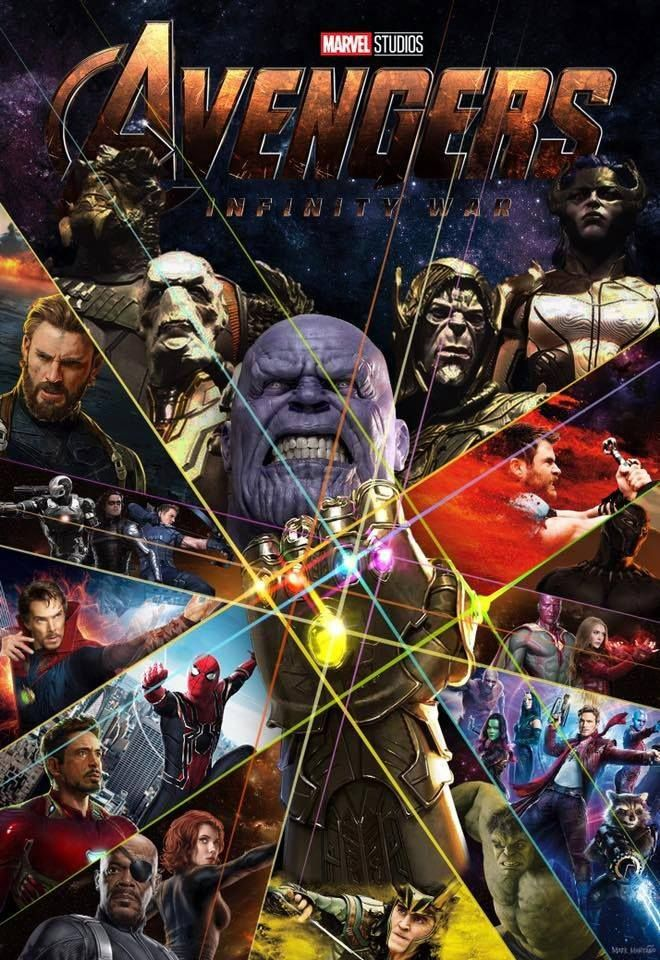 Another Avengers Infinity War Poster Is Here To Whet Your Appetite Marvel Movies Marvel Avengers