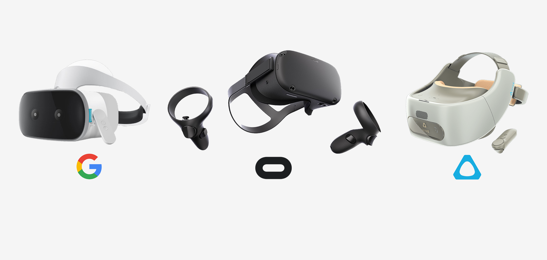 Oculus Quest vs Vive Focus vs Lenovo Mirage Solo 6DoF