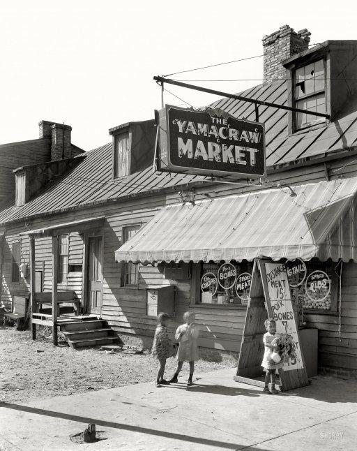 Savannah Georgia Circa 1939 Quot Yamacraw Market Fahm