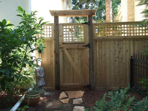 Japanese Fence Design design custom design build the torii gate