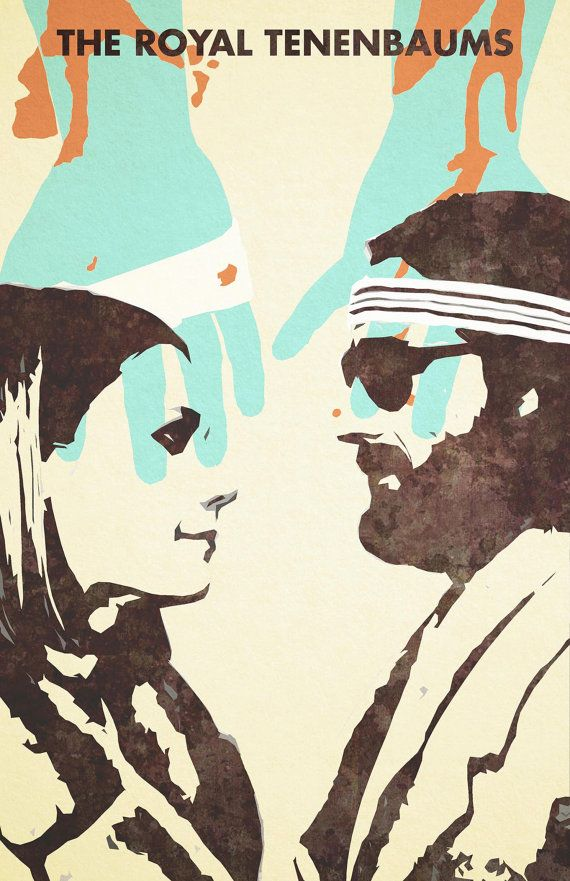 The Royal Tenenbaums - Wes Anderson - Gwenyth Paltrow - Luke Wilson - Poster - 1st Edition 13x19
