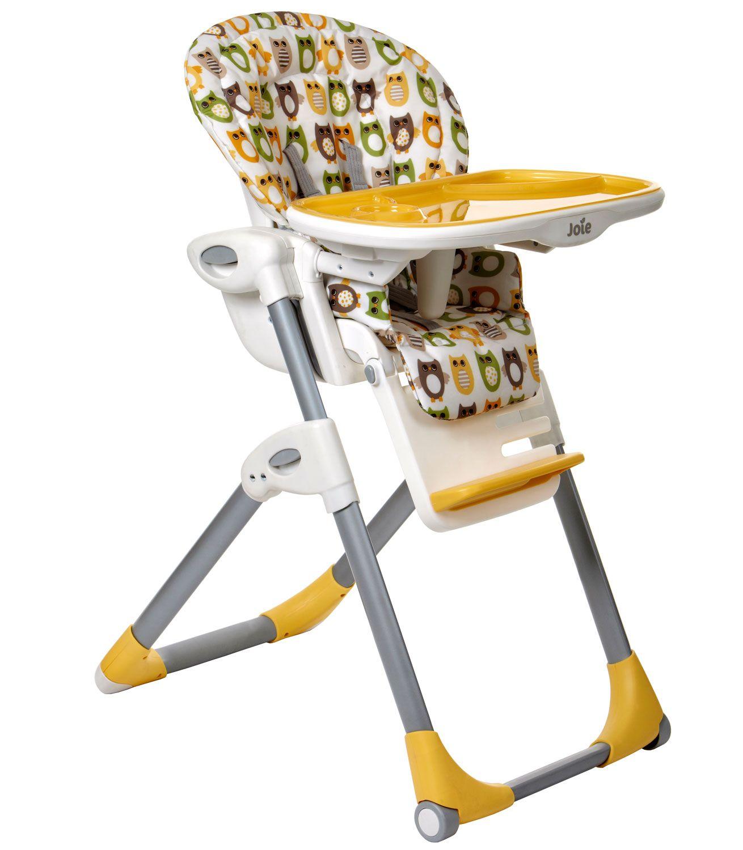 Joie Mimzy Highchair Owl Kiddicare Baby high chair