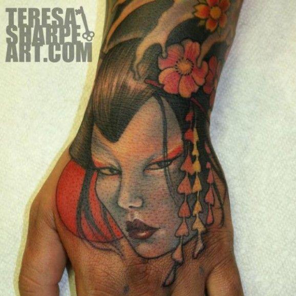 Japanese geisha tattoo by teresa sharpe nice tattoo pinterest japanese geisha tattoo by teresa sharpe tatuagens altavistaventures Gallery