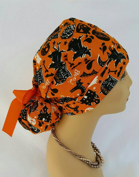 Check out this item in my Etsy shop https://www.etsy.com/listing/487161077/ponytail-scrub-hat-with-ribbon-scrub-hat