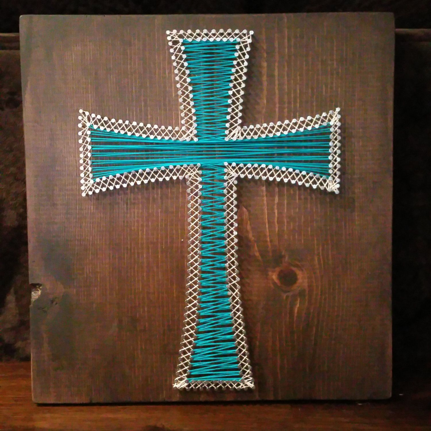 Custom Made Nail And String Art Plaques By Iheartstrings On