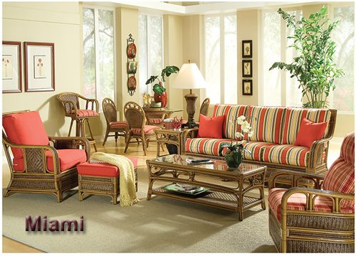 vintage rattan living room set white furniture indoor sets