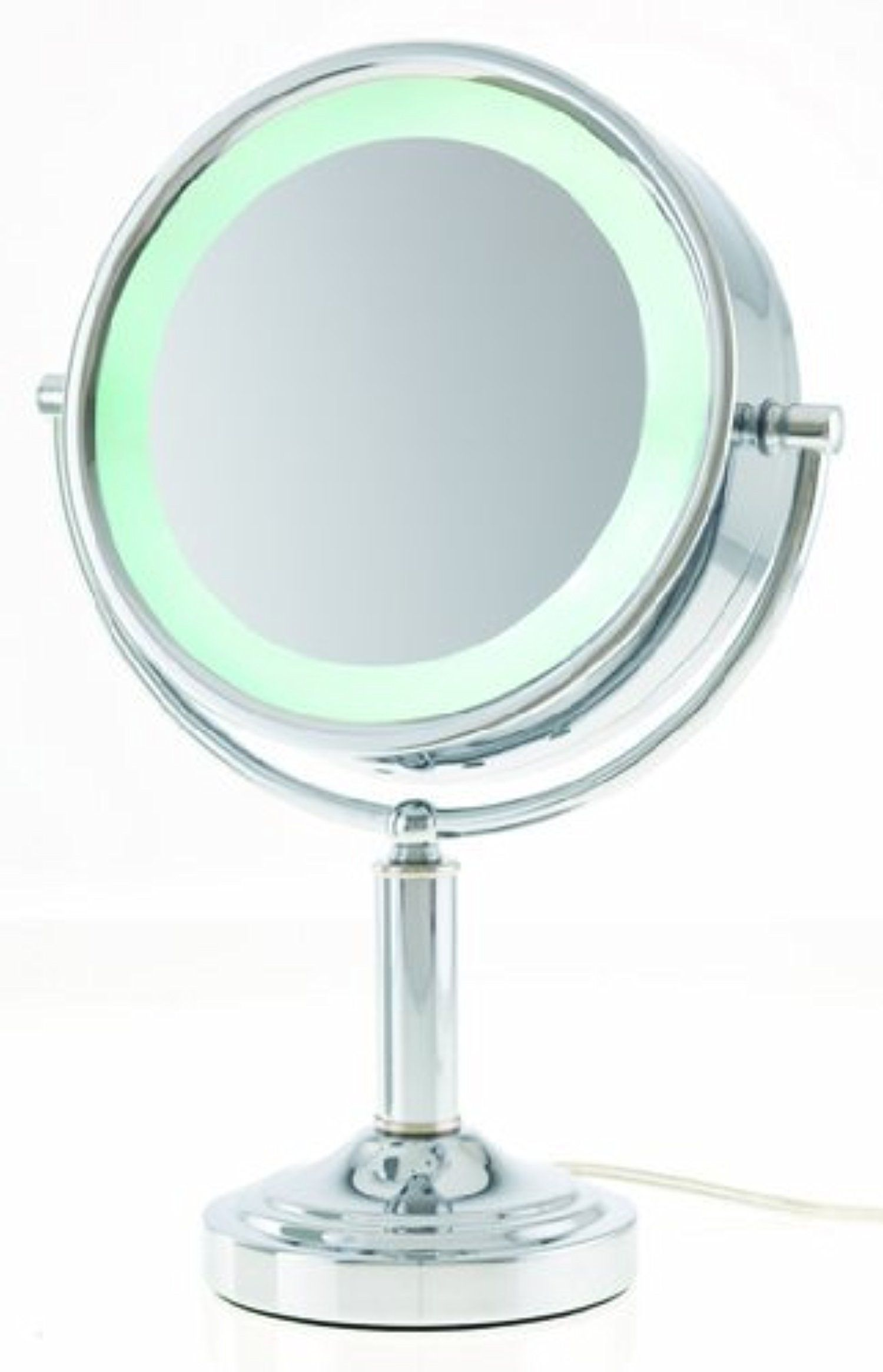Danielle 15x Magnification L E D Lit Flip Vanity Mirror By Danielle Awesome Products Selected By Ann Makeup Mirror Makeup Mirror With Lights Makeup Mirrors