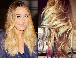 Tye Dye HAIR