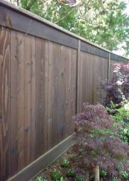 backyard fence ideas color 26 ideas backyard with on inexpensive way to build a wood privacy fence diy guide for 2020 id=46642