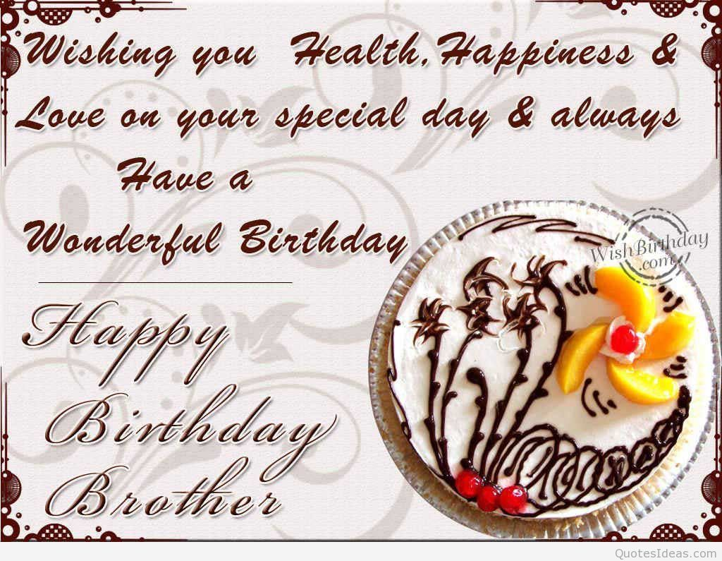 Hd Images Of Cake For Brother : birthday wallpapers for brother Happy birthday ...