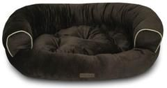 Comfy Pooch Brown Deluxe Couch