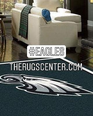 amazon com area philadelphia x multicolored nfl eagles rug milliken team slp by fade