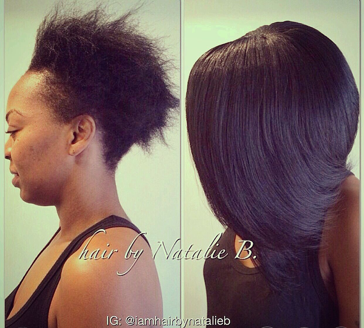 Bob Sew In Hair Weave Ll Or Text Natalie B At