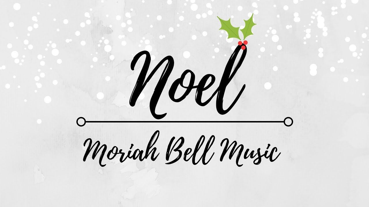 Noel - Lauren Daigle & Chris Tomlin // Moriah Bell COVER - YouTube ...